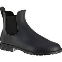 Резиновые сапоги мужские, чоботи гумові Fouganza SCHOOLING 100 черные