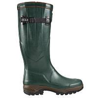 Зимние резиновые сапоги мужские Aigle PATH ISO 2 зеленые
