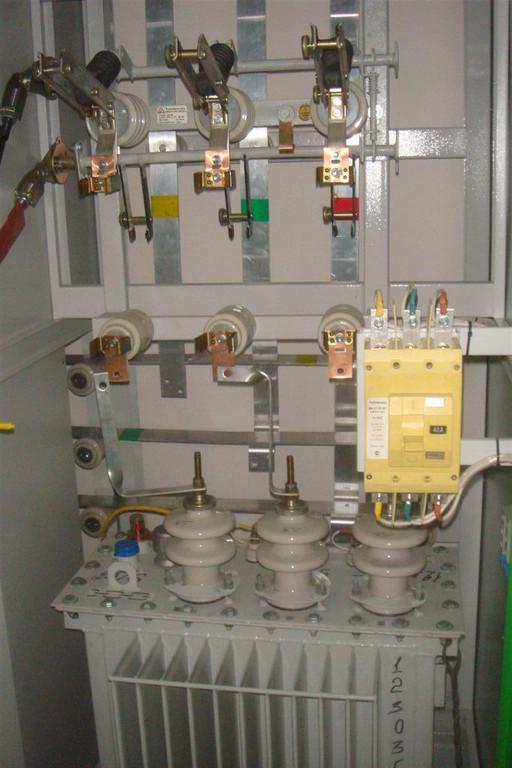 Фотографии монтажа оборудования