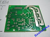 Плата ШИМ регулятор мощности 3кВт, 12-48В, 500Гц.