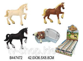 Конструктор 3D Пазл  Лошадь в коробке подкова