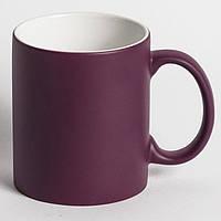 Чашка для сублимации хамелеон МАТОВЫЙ (пурпурный)