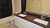 Столешница из гранита для ванной комнаты