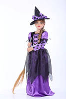 Костюм Ведьмочка фиолетовый 110-120 Craft 070916-033