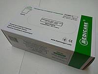 Перчатки нитриловые нестерильные хлорированные текстурированные неопудренные / размер S / Medicare