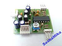 Активный фильтр сабвуфера на м/с TL084, 50-250Гц.