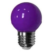 Лед лампа светодиодная фиолетовый шар G45 1,2W Е27 Lemanso LM705