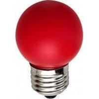 Лед лампа светодиодная красный шар G45 1,2W Е27 Lemanso LM705
