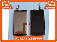 Модуль (lcd+touch) дисплей+тач Lenovo A2010 черный