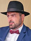 Мужская  шляпа из фетра  цвета под заказ, фото 2
