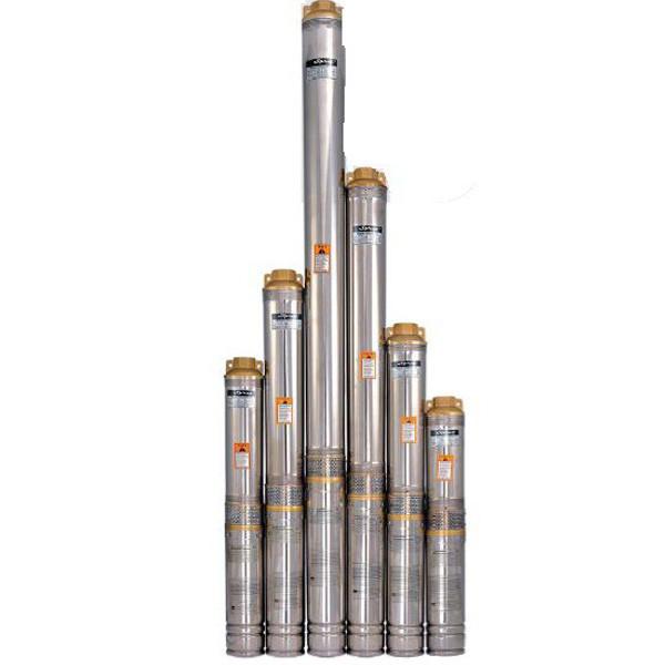 Погружной глубинный насос для скважин центробежный  100QJD 214-1.1 Sprut