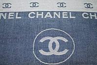 Стильний двохсторонній шарф Шанель