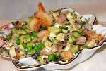 Салат из маринованых осьминогов