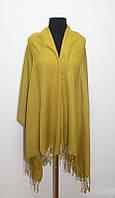 Жіночий гірчичний шарф Лаура