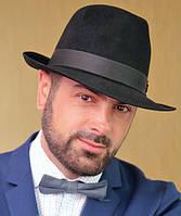 Мужская  шляпа из фетра  цвета под заказ