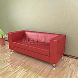 Трёхместный офисный диван Dream. Диваны для офисов. Мягкая офисная мебеь, фото 4
