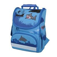 Ортопедический школьный ранец Tiger 2901 акула
