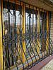 Кована решітка на вікно форми Цибулини арт.кр 29
