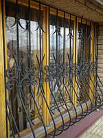 Решетка кованая на окна формы Луковицы арт.кр 29, фото 1