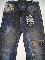 Мужские джинсы молодежные осень плотные