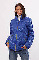 Женская демисезонная куртка  Murenna комбинированная электрик 30-52 размеры