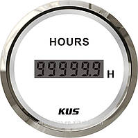 Счетчик моточасов Wema (Kus) белый  52мм