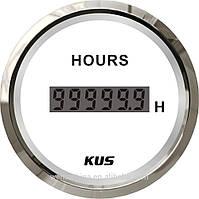 Счетчик моточасов Wema (Kus) белый  52мм, фото 1