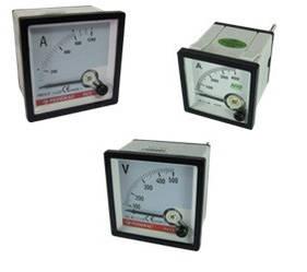 Амперметри (підключення через трансформатор струму)