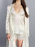 """Пижама """"SilkLine-20"""" шорты и майка (цвет: сирень)"""