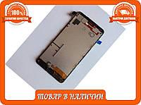 Дисплей Microsoft Nokia 640 Lumia с тачскрином чер