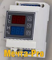 МЕЧТА-PRO терморегулятор-регулятор влажности-таймер поворота лотков в инкубаторе