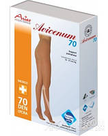 Колготы Aries Avicenum, закрытый носок, бежевый, 70 ден, 2