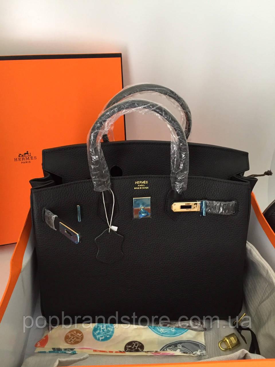 88e9b5a180e6 Женская сумка Hermes Birkin 35 см натуральная кожа - Pop Brand Store |  брендовые сумки,