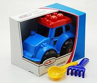 """Трактор """"Кузнечик"""" №4, коробка, 0237"""