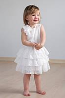 """Платье для девочки с оборками """"Айвори"""""""