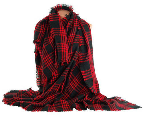 Практичный женский теплый платок Traum 2496-01