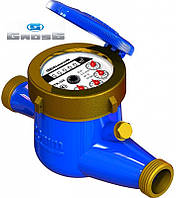 """Счётчик GROSS MTK-UA Dn20, L=190мм, Qn=2,5m3/ч многоструйный на холодную воду 3/4"""""""