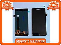Lenovo S90 Дисплей+сенсор+рамка черный