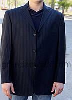 Пиджак мужской в полоску.