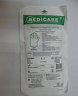 Перчаткики латексные стерильные хирургические / размер 6,5 / Medicare