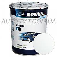 Автоэмаль однокомпонентная автокраска алкидная 040 Toyota белая Mobihel, 1 л