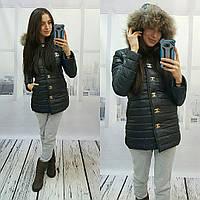 """Женская деми куртка """"Chanel"""" ВФ-118"""