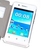 "Смартфон Samsung (YESTEL T1) (2SIM) 3,5"" 256/256 МB 1,3 Мп + ЧЕХОЛ! white белый Гарантия!"