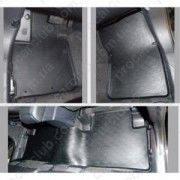 """Ковры в салон Mitsubishi Outlander XL 2006-2012 (C-Crosser;Peug4007) """"SD"""" серые (4шт/комп)"""
