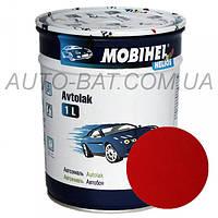 Автоэмаль однокомпонентная автокраска алкидная 1015 Красная Mobihel, 1 л