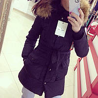 Женская зимняя куртка с натуральным мехом ВФ-121