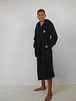 Теплые домашние махровые халаты подростковые