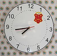Годинник настінний з гербом свого міста