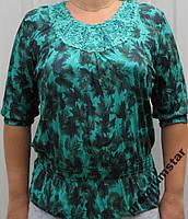 Блузка летняя женская 58-60р