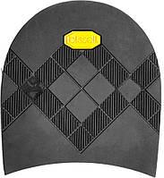 Набойка резиновая мужская BISSELL, art.RB 613, цв. чёрный (желтый лого)